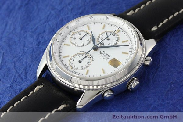 Used luxury watch Girard Perregaux Olimpico chronograph steel automatic Kal. 8000 214 LIMITED EDITION | 142713 01
