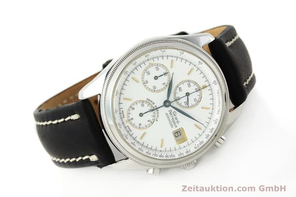 Used luxury watch Girard Perregaux Olimpico chronograph steel automatic Kal. 8000 214 LIMITED EDITION | 142713 03