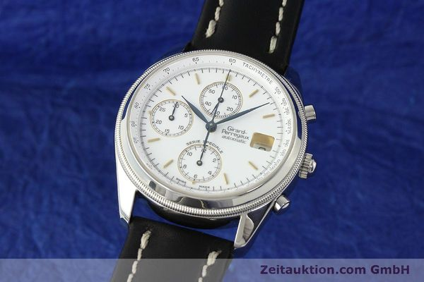 Used luxury watch Girard Perregaux Olimpico chronograph steel automatic Kal. 8000 214 LIMITED EDITION | 142713 04