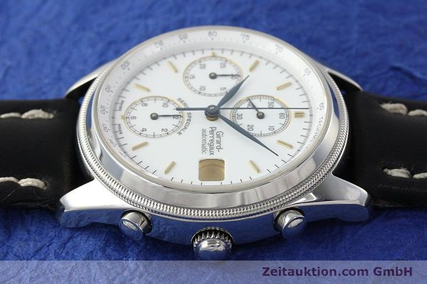 Used luxury watch Girard Perregaux Olimpico chronograph steel automatic Kal. 8000 214 LIMITED EDITION | 142713 05