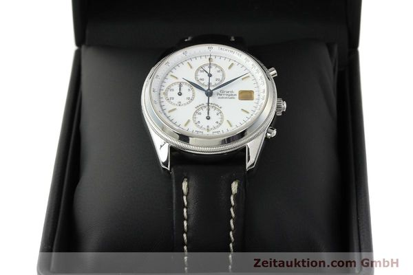 Used luxury watch Girard Perregaux Olimpico chronograph steel automatic Kal. 8000 214 LIMITED EDITION | 142713 07