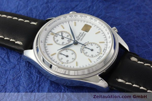 Used luxury watch Girard Perregaux Olimpico chronograph steel automatic Kal. 8000 214 LIMITED EDITION | 142713 12