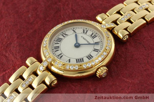 Used luxury watch Cartier Panthere 18 ct gold quartz Kal. 157  | 142716 01