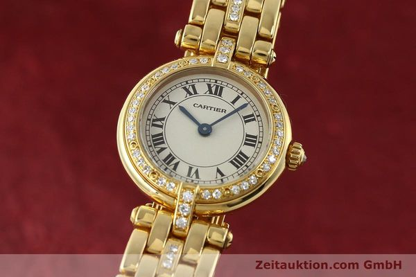 Used luxury watch Cartier Panthere 18 ct gold quartz Kal. 157  | 142716 04