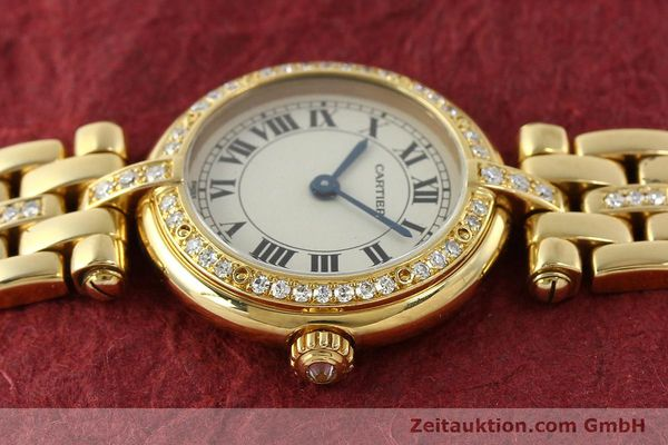 Used luxury watch Cartier Panthere 18 ct gold quartz Kal. 157  | 142716 05