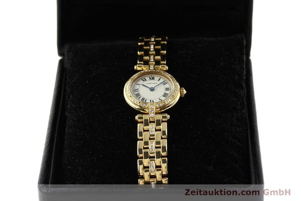Used luxury watch Cartier Panthere 18 ct gold quartz Kal. 157  | 142716 07