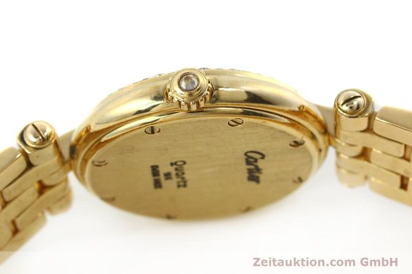 Used luxury watch Cartier Panthere 18 ct gold quartz Kal. 157  | 142716 08
