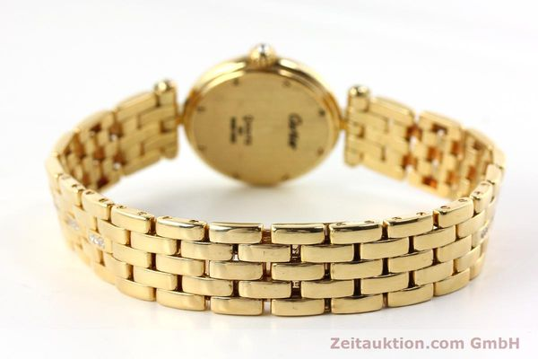 Used luxury watch Cartier Panthere 18 ct gold quartz Kal. 157  | 142716 11