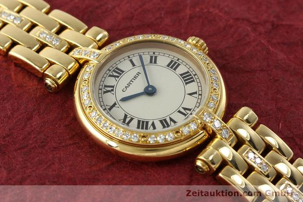Used luxury watch Cartier Panthere 18 ct gold quartz Kal. 157  | 142716 15