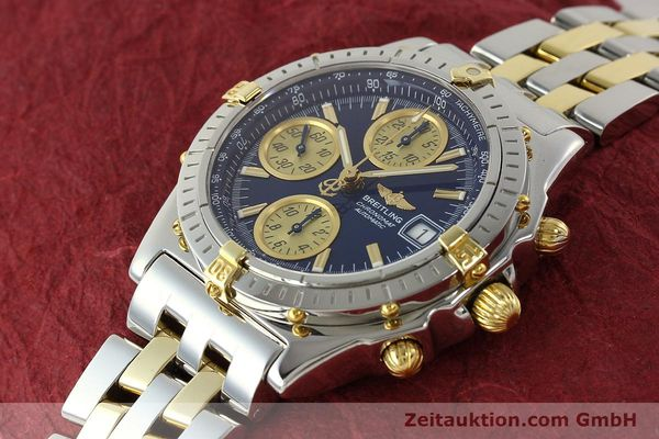 Used luxury watch Breitling Chronomat chronograph steel / gold automatic Kal. B13 ETA 7750 Ref. B13050.1  | 142717 01