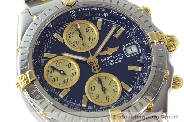 Used luxury watch Breitling Chronomat chronograph steel / gold automatic Kal. B13 ETA 7750 Ref. B13050.1  | 142717 02