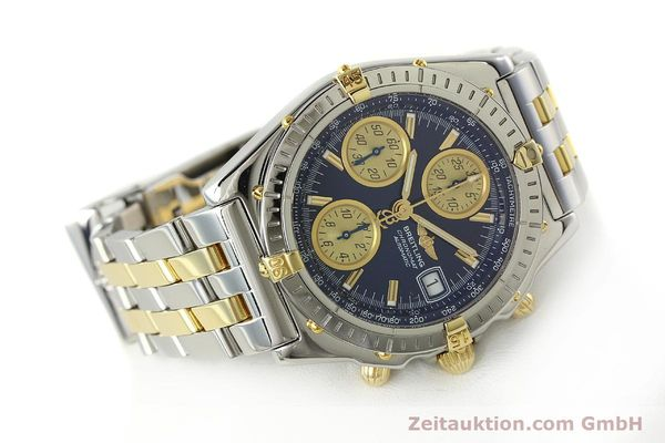 Used luxury watch Breitling Chronomat chronograph steel / gold automatic Kal. B13 ETA 7750 Ref. B13050.1  | 142717 03