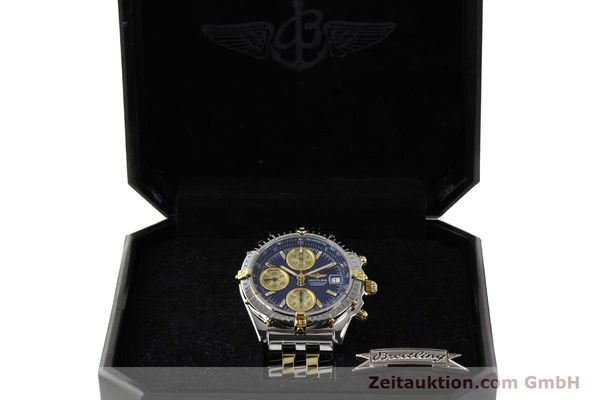 Used luxury watch Breitling Chronomat chronograph steel / gold automatic Kal. B13 ETA 7750 Ref. B13050.1  | 142717 07