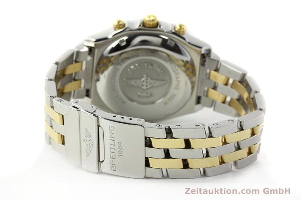 Used luxury watch Breitling Chronomat chronograph steel / gold automatic Kal. B13 ETA 7750 Ref. B13050.1  | 142717 12