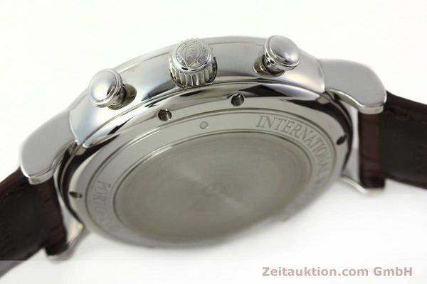 Used luxury watch IWC Portofino chronograph steel automatic Kal. 75320 Ref. 3910  | 142718 11