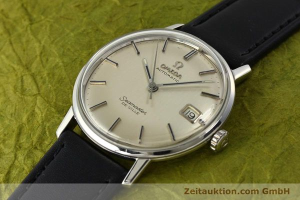 Used luxury watch Omega Seamaster steel automatic Kal. 565  | 142720 01