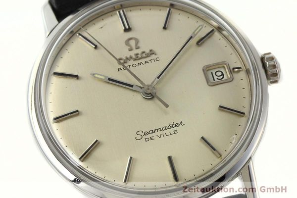 Used luxury watch Omega Seamaster steel automatic Kal. 565  | 142720 02