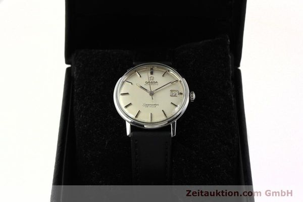 Used luxury watch Omega Seamaster steel automatic Kal. 565  | 142720 07