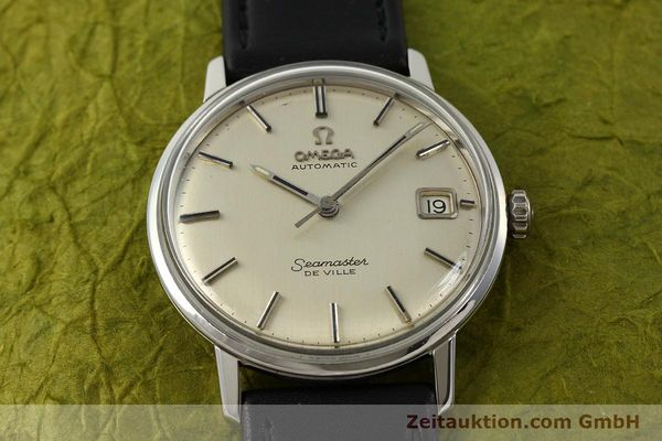 Used luxury watch Omega Seamaster steel automatic Kal. 565  | 142720 15