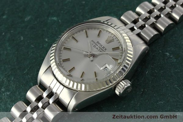 Used luxury watch Rolex Lady Date steel / white gold automatic Kal. 2030 Ref. 6917  | 142722 01