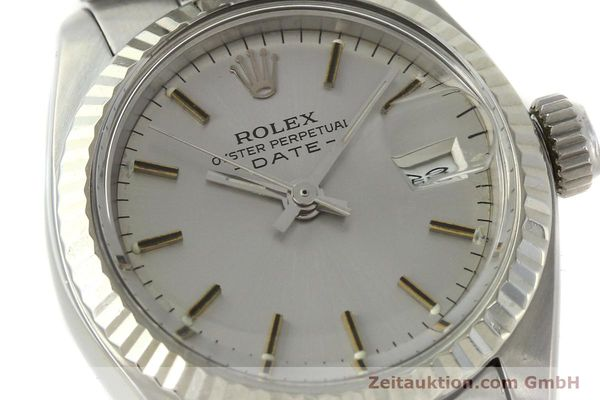 Used luxury watch Rolex Lady Date steel / white gold automatic Kal. 2030 Ref. 6917  | 142722 02