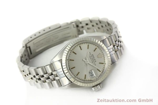 Used luxury watch Rolex Lady Date steel / white gold automatic Kal. 2030 Ref. 6917  | 142722 03