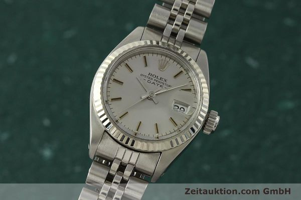 Used luxury watch Rolex Lady Date steel / white gold automatic Kal. 2030 Ref. 6917  | 142722 04