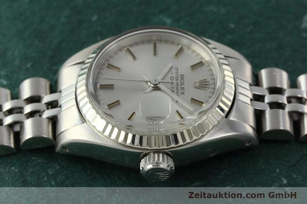 Used luxury watch Rolex Lady Date steel / white gold automatic Kal. 2030 Ref. 6917  | 142722 05