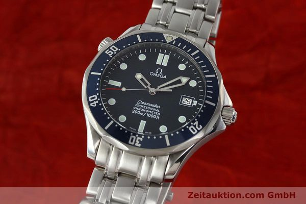 Used luxury watch Omega Seamaster steel automatic Kal. 1109 ETA 2892A2  | 142723 04