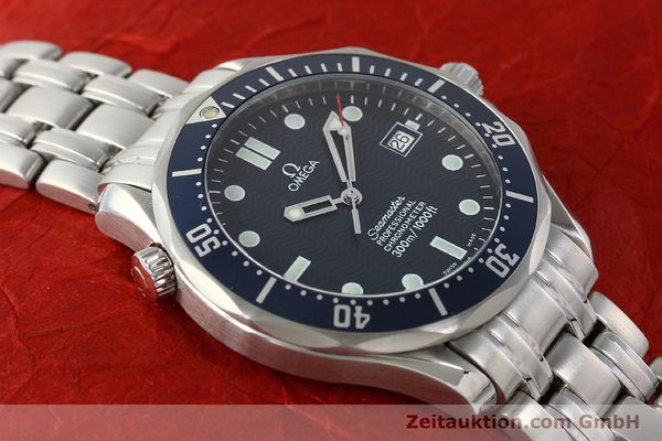 Used luxury watch Omega Seamaster steel automatic Kal. 1109 ETA 2892A2  | 142723 18