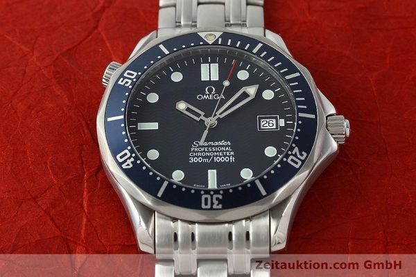 Used luxury watch Omega Seamaster steel automatic Kal. 1109 ETA 2892A2  | 142723 19