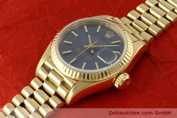 Used luxury watch Rolex Lady Datejust 18 ct gold automatic Kal. 2135 Ref. 69178  | 142724 01