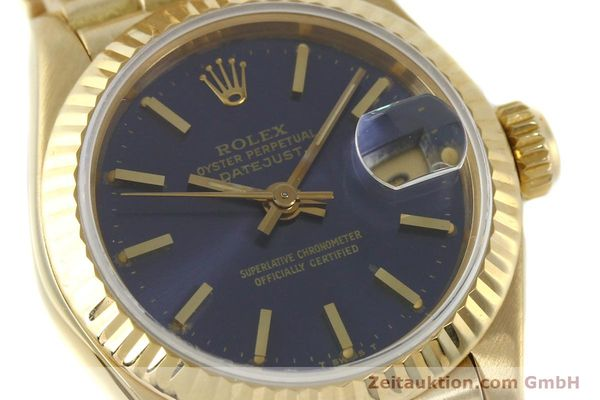 Used luxury watch Rolex Lady Datejust 18 ct gold automatic Kal. 2135 Ref. 69178  | 142724 02