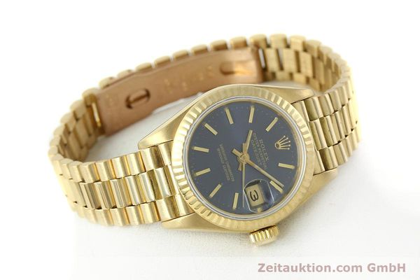 Used luxury watch Rolex Lady Datejust 18 ct gold automatic Kal. 2135 Ref. 69178  | 142724 03