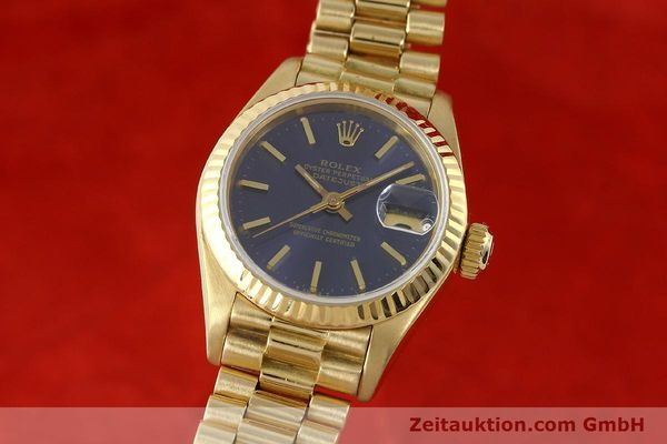 Used luxury watch Rolex Lady Datejust 18 ct gold automatic Kal. 2135 Ref. 69178  | 142724 04