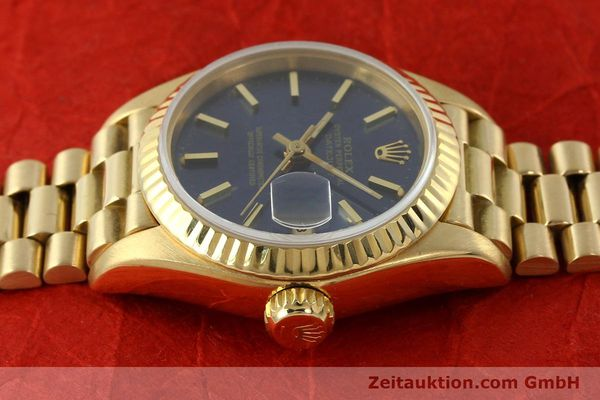 Used luxury watch Rolex Lady Datejust 18 ct gold automatic Kal. 2135 Ref. 69178  | 142724 05