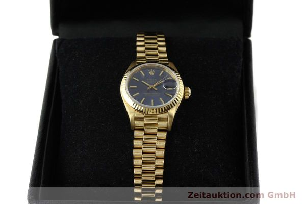 Used luxury watch Rolex Lady Datejust 18 ct gold automatic Kal. 2135 Ref. 69178  | 142724 07