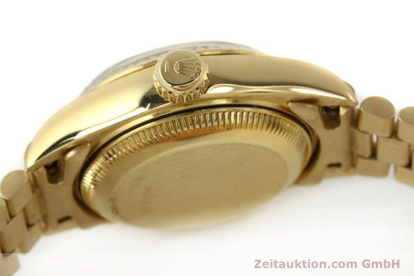 Used luxury watch Rolex Lady Datejust 18 ct gold automatic Kal. 2135 Ref. 69178  | 142724 12