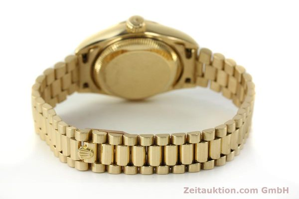 Used luxury watch Rolex Lady Datejust 18 ct gold automatic Kal. 2135 Ref. 69178  | 142724 13