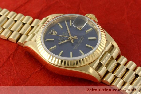 Used luxury watch Rolex Lady Datejust 18 ct gold automatic Kal. 2135 Ref. 69178  | 142724 18