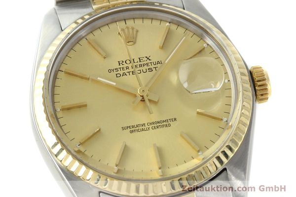 Used luxury watch Rolex Datejust steel / gold automatic Kal. 3035 Ref. 16013  | 142725 02