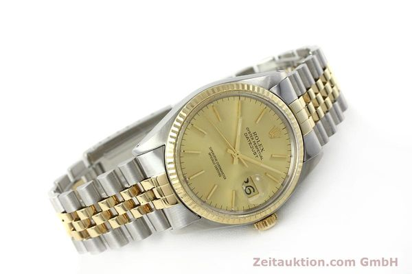 Used luxury watch Rolex Datejust steel / gold automatic Kal. 3035 Ref. 16013  | 142725 03