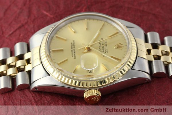 Used luxury watch Rolex Datejust steel / gold automatic Kal. 3035 Ref. 16013  | 142725 05