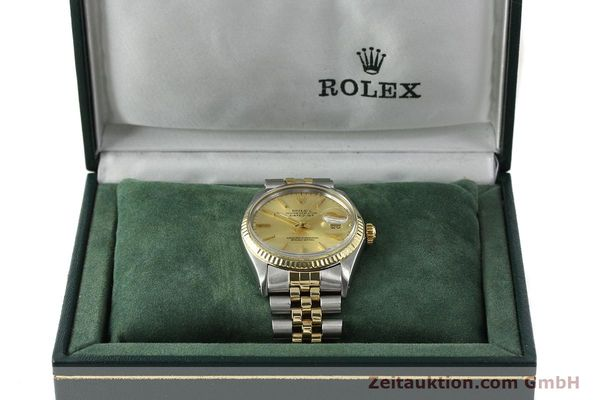 Used luxury watch Rolex Datejust steel / gold automatic Kal. 3035 Ref. 16013  | 142725 07