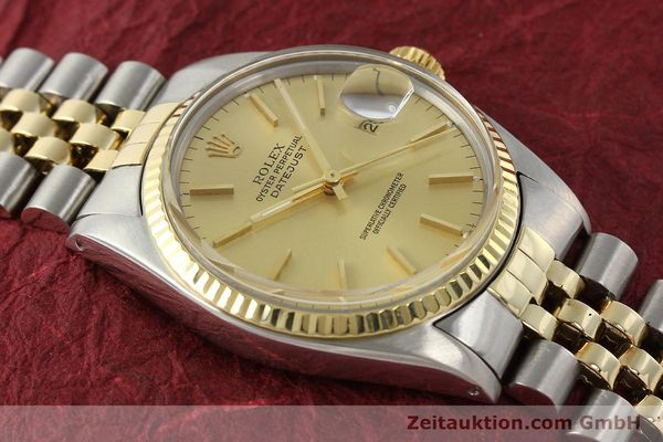 Used luxury watch Rolex Datejust steel / gold automatic Kal. 3035 Ref. 16013  | 142725 14