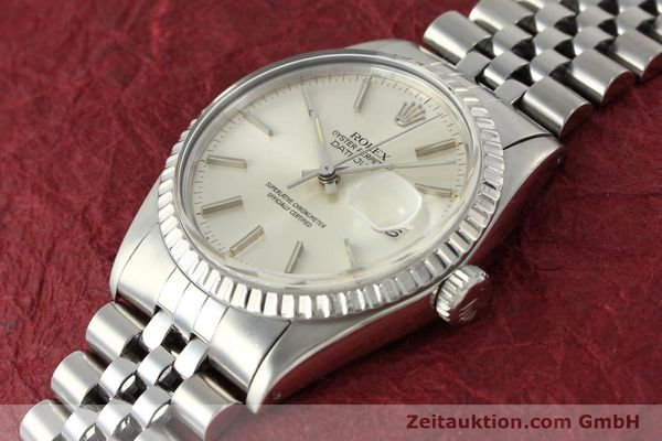 Used luxury watch Rolex Datejust steel automatic Kal. 3035 Ref. 16030  | 142727 01