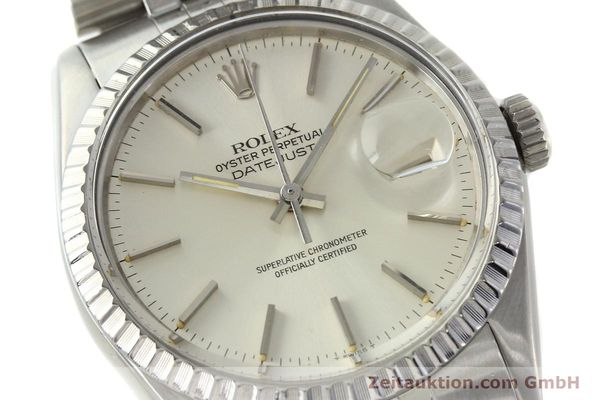 Used luxury watch Rolex Datejust steel automatic Kal. 3035 Ref. 16030  | 142727 02