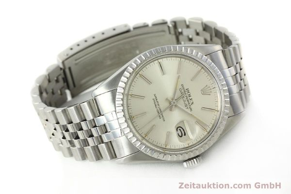 Used luxury watch Rolex Datejust steel automatic Kal. 3035 Ref. 16030  | 142727 03