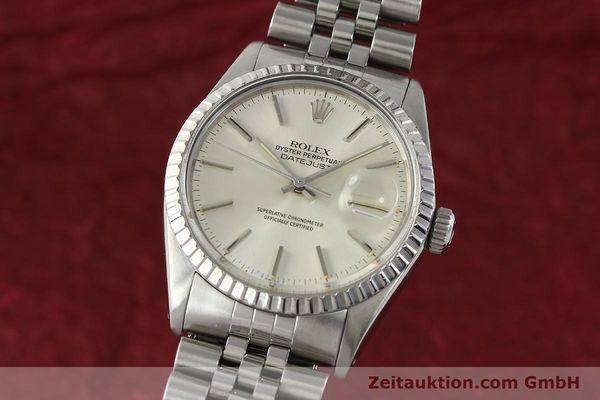 Used luxury watch Rolex Datejust steel automatic Kal. 3035 Ref. 16030  | 142727 04