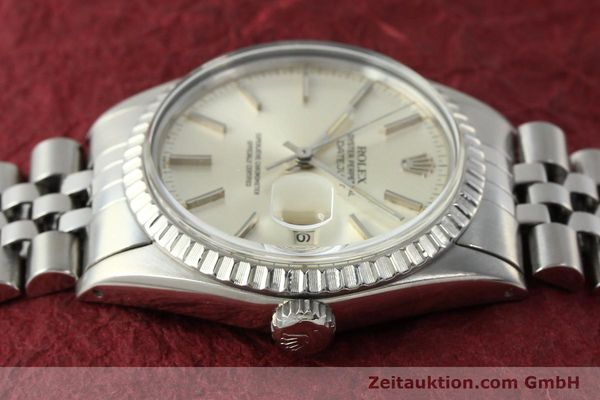 Used luxury watch Rolex Datejust steel automatic Kal. 3035 Ref. 16030  | 142727 05